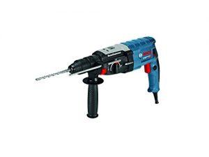 Bosch Professional GBH 2-28 F Bohrhammer, SDS-plus-Wechselfutter, 13 mm Schnellspannbohrfutter, bis 28 mm Bohr-Ø, Rückschlag-Schutz, L-Boxx