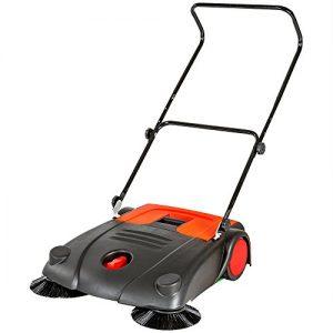 TecTake® Kehrmaschine 70cm Handkehrmaschine Kehrbesen 700mm Kehrer Besen manuell neu