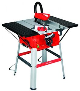 Einhell Tischkreissäge TC-TS 2025/1 U (1800 W, Sägeblatt Ø 250 x Ø 30 mm, max. Schnitthöhe 85 mm, Tischgröße 640×487 mm)