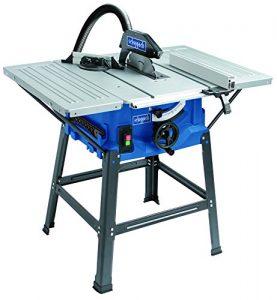 Scheppach Tischkreissäge 250-er Set, 230 V, 2000 W mit 2 Tischverbreitungen und Untergestell, HS100STVB