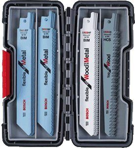 Bosch 20-tlg. Säbelsägeblätter ToughBox Top Seller for Wood and Metal 2607010902