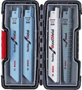Bosch 20-tlg. Säbelsägeblätter ToughBox Top Seller for Wood and Metal 2607010902