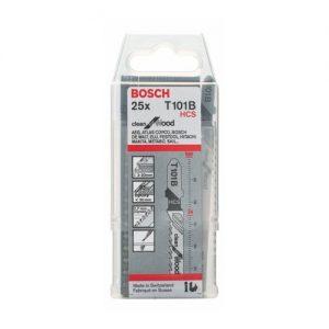 Bosch Stichsägeblätter Holz T101B 25 Stück