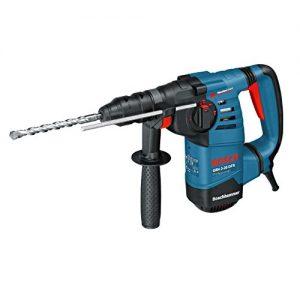 Bosch Professional GBH 3-28 DFR, 800 W Nennaufnahmeleistung, 3,1 J Schlagenergie, 4 – 28 mm Bohr-Ø, Schnellspannbohrfutter, Koffer, SDS-plus-Wechselfutter