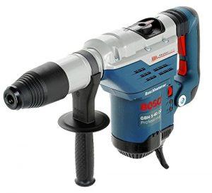 Bosch Professional GBH 5-40 DCE Bohrhammer, 1.150 W Nennaufnahmeleistung, 8,8 J Schlagenergie, 1.500 – 3.050 min¯¹ Schlagzahl, Handwerkerkoffer, Zusatzhandgriff