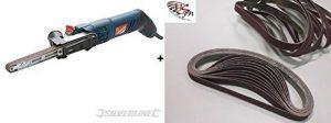 Powerfeile Elektrobandfeile Bandfeile für 13 x 457 mm Schleifbänder