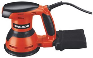 Black + Decker KA 198 Exzenterschleifer 260 Watt