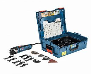 Bosch Professional Multi-Tool GOP 40-30 mit 16 teilig Zubehör-Set, 400 W, Starlock, L-Boxx, 1 Stück, 0601231001