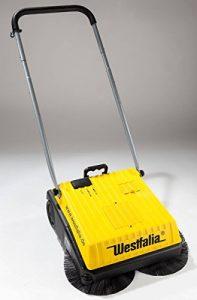 Westfalia Kehrmaschine 230/ 12 V – elektrisch oder mit Akku zu betreiben