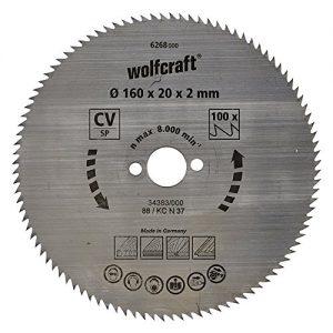 Wolfcraft Kreissäge-Blatt 160  X 20 110 Zähne