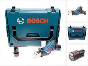 Bosch GSA 10,8 V-LI Professional Akku Säbelsäge in L-Boxx + 1 x GBA 10,8 V 2,5 Ah Akku