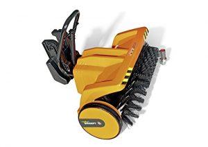Rolly Toys 409723 – Kehrwalze rollyTrac Sweepy, orange
