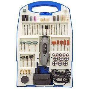 TecTake® Mini-Schleifer Schleifmaschine 110 teilig inklusive Koffer