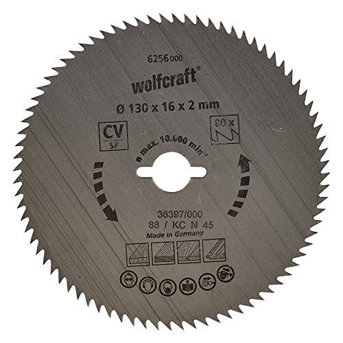 Wolfcraft Kreissäge-Blatt 130  X 16 64 Zähne