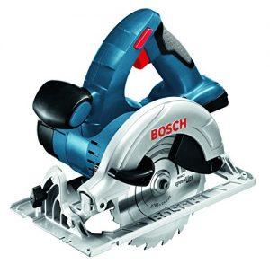 Bosch Professional GKS 18 V-LI Akku-Kreissäge, Schnitttiefe 90/45 Grad, 51/40 mm, stufenlose Schnitttiefeneinstellung in L-Boxx ohne Akku und Ladegerät, 1 Stück, 060166H006