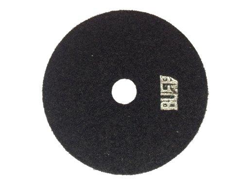 Diamant - Schleifpad Trockenschliff 100 mm Klettscheibe Körnung : Buff (Finish-Scheibe)