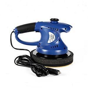 ROBAYSE Handheld Elektrischer 8-Zoll Auto Poliermaschine (90 W, Polierteller 8 inches, 3500 min-1)