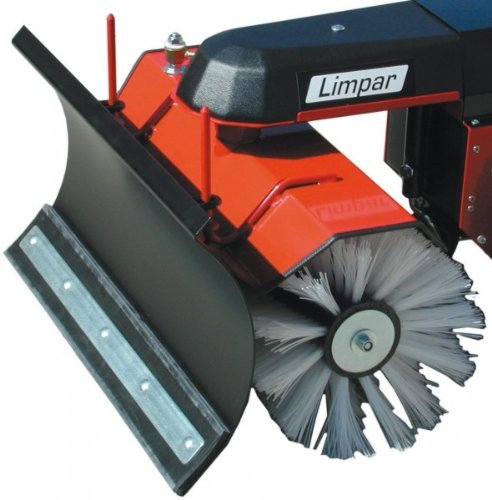 4F Schneeräumschild für Limpar Kehrmaschine 67 69 72 und Akku 24