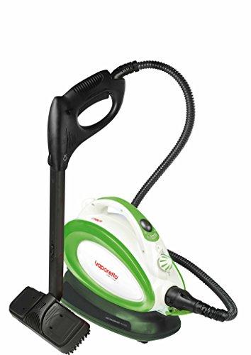 POLTI PTEU0266 Dampfreiniger Handy 25 Plus mit Sicherheitsverschluss, maximal Dampfdruck 3,5 bar, Dampfausstoss bis zu 90 gr/min, Aufheizzeit 6 Minuten, Dampfbereit-Anzeige, Edelstahlboiler, Gesamtleistung 1500 W, 35 x 18 x 28,5 cm