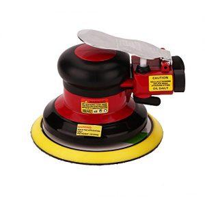 Hochwertig Druckluft Schleifer Excenterschleifer Schleifmaschine, Niedrige Vibration, Schwerlast Maschine