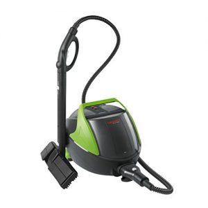 Vaporetto PTEU0263 Polti Pro 90 Turbo Dampfreiniger mit ständiger Nachfüllbarkeit, 1100 Watt, 5 Bar, grün