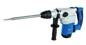 Scheppach 5907901901 Bohrhammer / Schlaghammer DH1200MAX | + Spitzmeißel, Flachmeißel, Koffer / SDS Max / 3 Funktionen / Anti-Vibration (230V / 1050W / Schlagkraft: 9 J / Schlagzahl 3780 1/min / 8 kg)