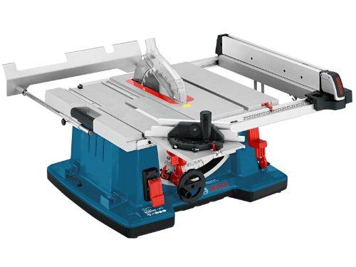 Bosch Professional Tischkreissäge GTS 10 XC (Motorbremse, Sägeblatt, Absaugadapter, Parallelanschlag, Winkelanschlag, Karton, Sägeblatt-Ø: 254 mm, Sägeblattbohrungs-Ø: 30 mm, 2100 Watt)