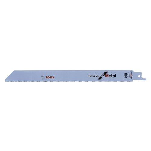 Bosch Pro Säbelsägeblatt Flexible for Metal zum Sägen in Metall (5 Stück, S 1122 EF)