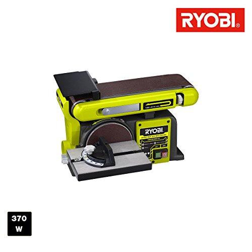 Bandschleifer und Tellerschleifer stationären Ryobi 370W rbds4601g