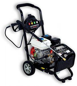 Benzin Hochdruckreiniger/Dampfstrahler mit 180 Bar – 2500 PSI / 7 PS | 5 Düsen inklusive
