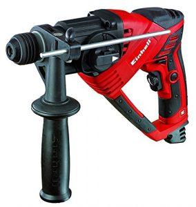 Einhell RT-RH 20/1 Bohrhammer (500 W, 1,6 J, Bohrleistung Ø in Beton 20 mm, SDS-Plus-Aufnahme, Metall-Tiefenanschlag, Koffer)