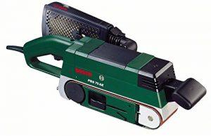 "Bosch PBS 75 AE Bandschleifer ""Expert"" + Winkeladapter + 1 Schleifband 75×533 mm (710 W, Bosch Electronic, Microfilter System)"