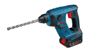 Bosch Professional GBH 18 V-LI Compact Akku-Bohrhammer mit 2 x 3,0 Ah Li-Ion, Schlagenergie 1 J, 1,9 kg, L-BOXX, 1 Stück, 0611905303
