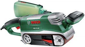 Bosch DIY Bandschleifer PBS 75 AE, 1 Schleifband K 80, Koffer (750 W, Schleiffläche  76 x 165 mm, Bandabmessung  75 x 533 mm)