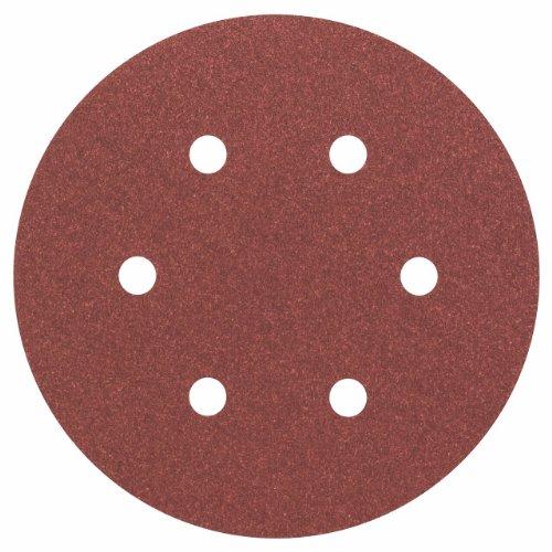 Bosch Pro Schleifblatt Expert for Wood and Paint Holz und Farbe für Exzenterschleifer (5 Stück, Ø 150 mm, Körnung 120, C430)