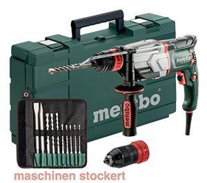 Multihammer / Bohrhammer UHE 2660-2 Quick Set | + umfangreiches Zubehör, 4 Funktionen: Hammerbohren, Bohren in zwei Gängen und Meißeln, Sicherheitskupplung | 2,8 J / 800 W