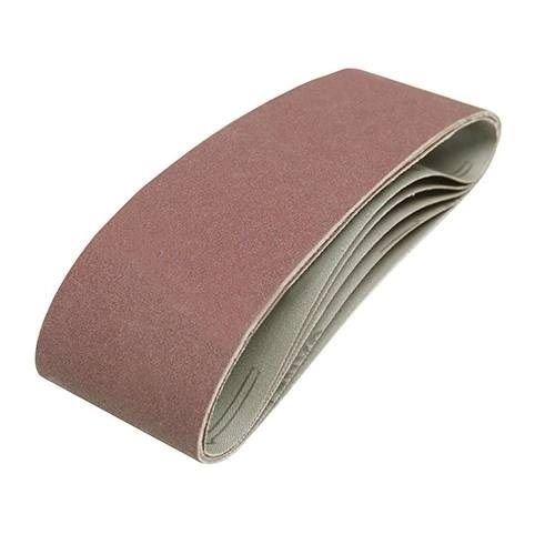 50 Stück Gewebe Schleifbänder 75x533 mm Schleifband f Bandschleifer Korn 40-180