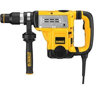 Dewalt 45 mm SDS-max Kombihammer D25602K / Kraftvoller Bohrhammer mit 8 J Schlagenergie und 2-Stufen-Kupplung für diverse Bohranwendungen & Meißelarbeiten / 1 x Bohrhammer 1250 W