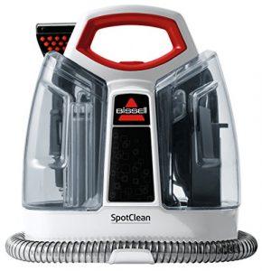 BISSELL 3698N SpotClean Flecken-Reinigungsgerät für Teppiche und Polster, tragbar (330W – 2.5L)