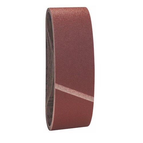 Bosch Pro Schleifband Best for Wood and Paint Holz und Farbe für Bandschleifer (10 Stück, Körnung 80, X440)