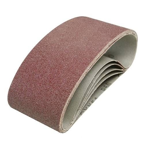 50 Stück Gewebe Schleifbänder 75x457 mm Schleifband f Bandschleifer Korn 40-180