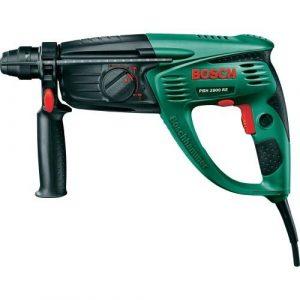 Bosch Bohrhammer PBH 2800 RE (Flachmeißel, Tiefenanschlag, Zusatzhandgriff, Koffer, 720 Watt)