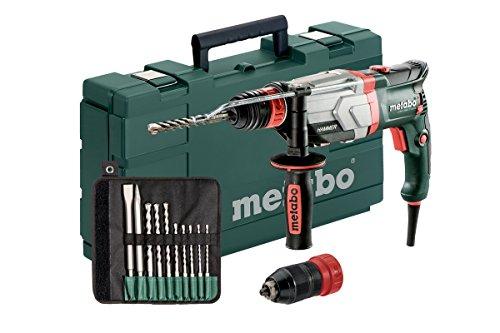 Multihammer / Bohrhammer UHEV 2860-2 QUICK SET | mit umfangreichen Zubehör, 4 Funktionen: Hammerbohren, Bohren in zwei Gängen und Meißeln, Hochleistungsschlagwerk | 3,4 J / 1100 W