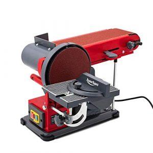Berlan Bandschleifer & Tellerschleifer Bandschleifmaschine Schleifmaschine 350 Watt – BBTS350