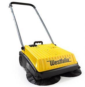 Westfalia Akku Kehrmaschine Hofkehrmaschine 230/12 V – elektrische