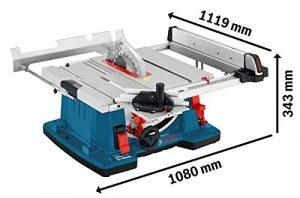 Bosch Professional Tischkreissäge GTS 10 XC (2100 Watt, Sägeblatt-Ø: 254 mm, Sägeblattbohr-Ø: 30 mm, im Karton)