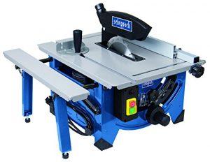 Scheppach Tischkreissäge HS80 (1200W, Sägeblatt Ø 210mm, Schnitthöhe 48mm, Tischgröße 525 x 400 mm)