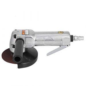 Winkelschleifer – 180mm Winkelpolierer Schleifen Polierwerkzeug mit Schiebeschalter Winkelschleifer Spanner Grinder Disc