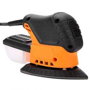 Cocoarm Exzenterschleifer Winkelpolierer mit Reinigung und Staubsammelung System Poliermaschine Polier Schleifteller 13000PM 20 x 9,3 x 12 cm