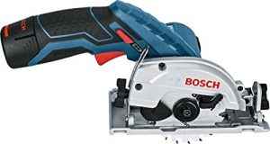 Bosch Professional Akku-Kreissäge GKS 12 V-26 (2 x 3 Ah Akku, 12 V, Sägeblattbohrungs-Ø: 15 mm, in L-Boxx)